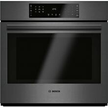 800 Series Single Wall Oven 30'' Black Stainless Steel HBL8443UC