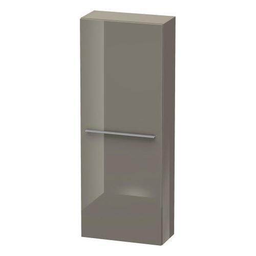 Duravit - Semi-tall Cabinet, Flannel Gray High Gloss (lacquer)