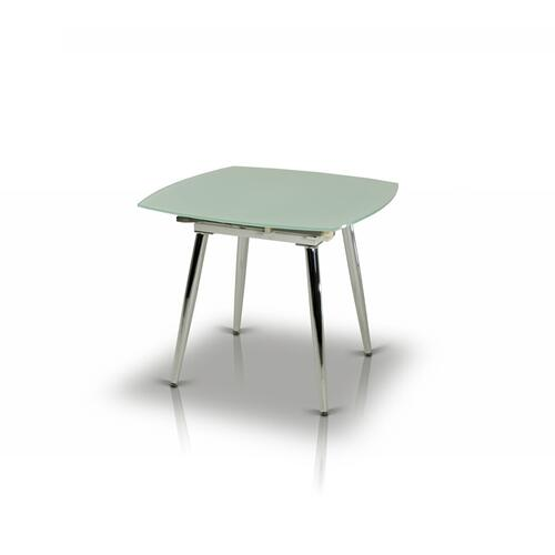 VIG Furniture - Modrest Brunch Modern White Extendable Dining Table