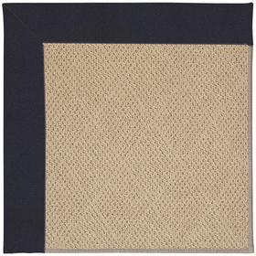 "Creative Concepts-Cane Wicker Canvas Navy - Rectangle - 24"" x 36"""