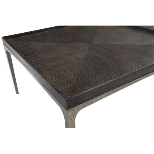 Strata Charcoal Cocktail Table in Cerused Charcoal (384)