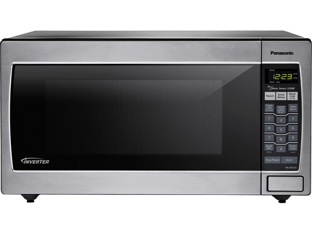 Panasonic1.6 Cu. Ft. Countertop/built-In Microwave With Inverter Technology Nn-Sn752s Stainless