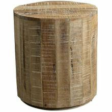View Product - Eva Accent Table in Distressed Natural