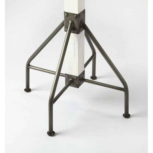 Use this coat rack in your entryway to catch hats, jackets, umbrellas and more or in your bathroom for towels and robes; this contemporary-chic coat rack, features 2 tiers of iron hooks, solid wood frame and an iron base for a touch of charm.