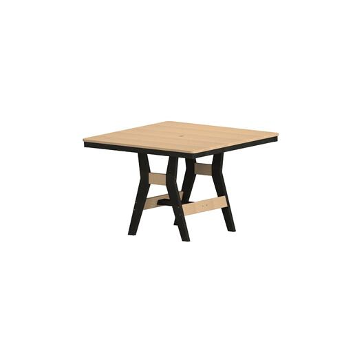 "Harbor 44"" Square Table - Counter"