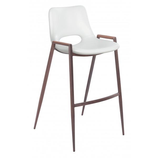 Desi Bar Chair White