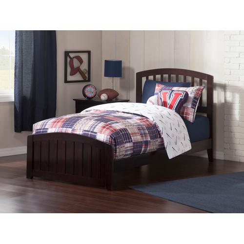 Richmond Twin Bed with Matching Foot Board in Espresso