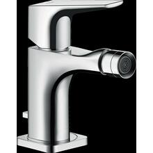 Chrome Single-Hole Bidet Faucet with Lever Handle