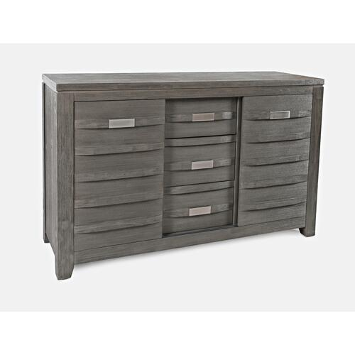 "Altamonte 54"" Server - Brushed Grey"