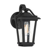 View Product - Darius Outdoor Lantern in Earth Black