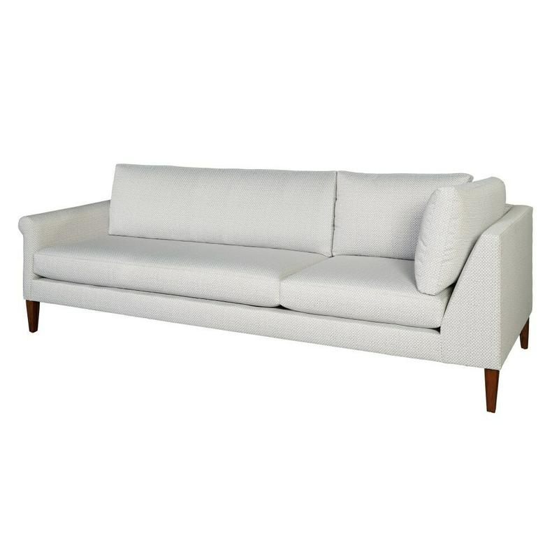 174291 Metro Rolled Arm Corner Sofa LAF