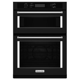 "27"" Combination Wall Oven with Even-Heat True Convection (lower oven) Black"
