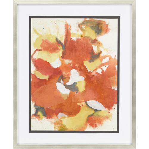 Petal Mosaic Orange II