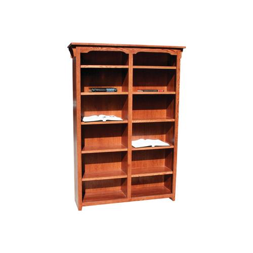 "Mission Oak 48"" Standard Bookcase"
