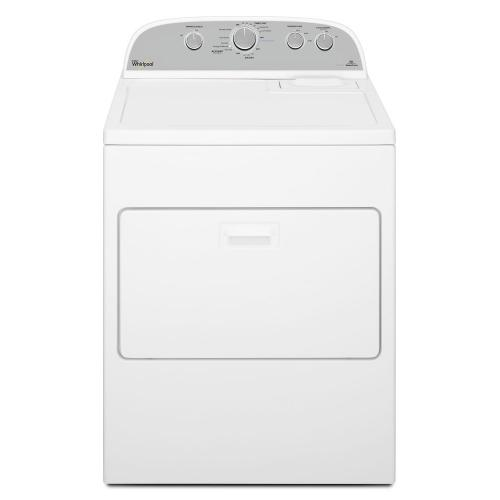 Whirlpool - 7.0 cu.ft Top Load Gas Dryer with AccuDry™, Steam Refresh