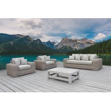 See Details - Renava Portugal - Outdoor Beige Wicker Sofa Set