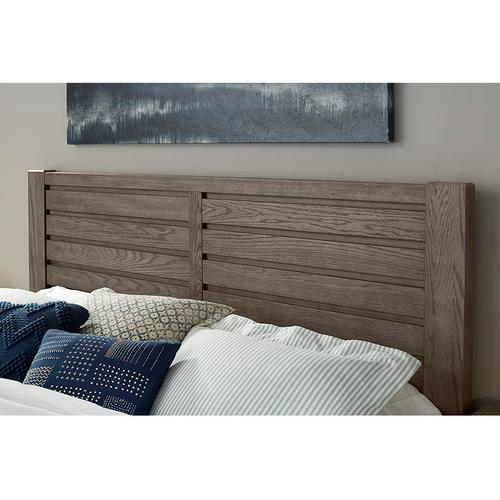 HORIZONTAL PLANK BED 2 side storage units