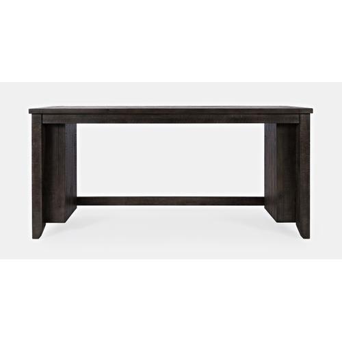 Madison County Barnwood 4pc Sofa Console, Stool Set - Barnwood