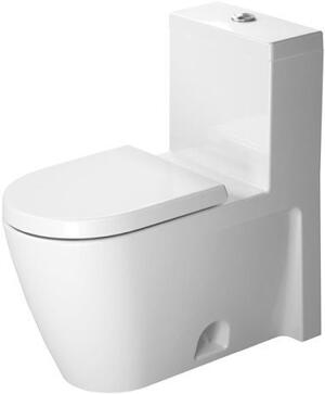 White Starck 2 One-piece Toilet Product Image