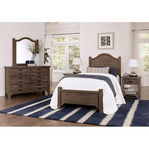Arched Bed in Twin & Full