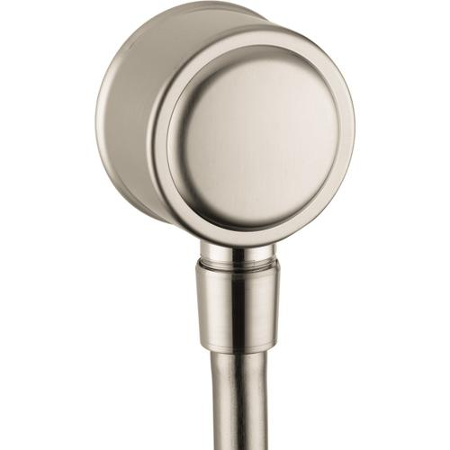 AXOR - Brushed Nickel Wall Outlet with Check Valves