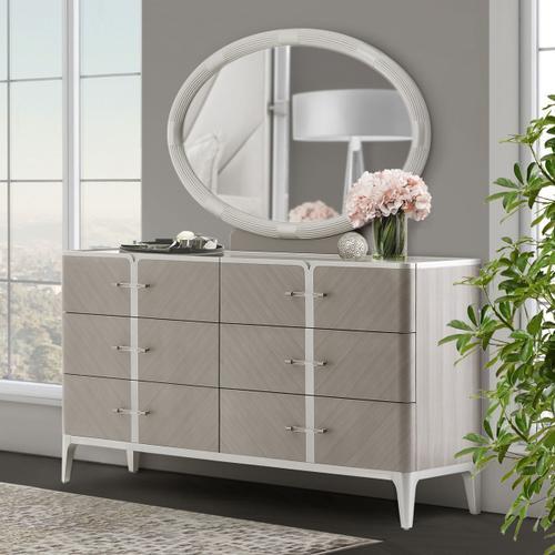 Amini - Storage Console- Dresser & Mirror