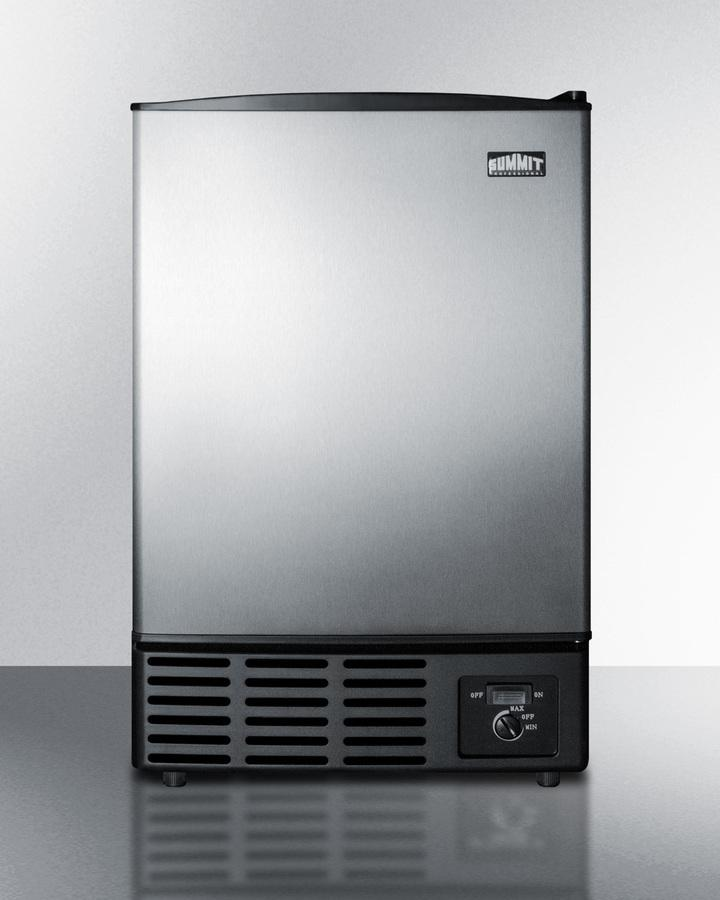 SummitCompact Manual Defrost Icemaker For Built-In Use Under Counters