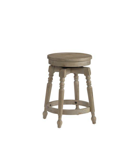 24 Inch Swivel Barstool (1/Ctn) - Sandy Blonde Finish