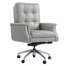 DC#128 Verona Grey - DESK CHAIR Leather Desk Chair