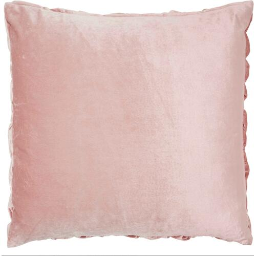 "Life Styles L0064 Blush 22"" X 22"" Throw Pillow"