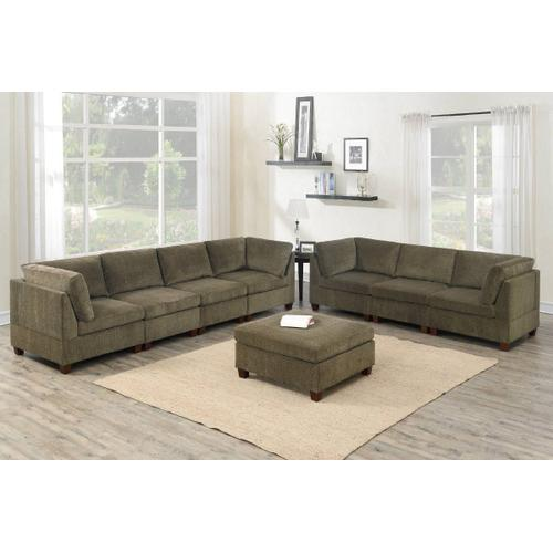 8-pcs Modular Sectional & Sofa Set