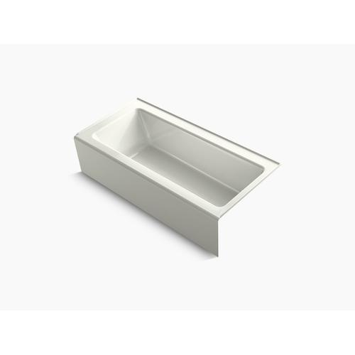 """Dune 66"""" X 32"""" Alcove Bath With Integral Apron and Right-hand Drain"""