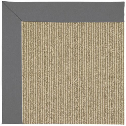 Creative Concepts-Sisal Canvas Charcoal Machine Tufted Rugs