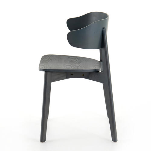 Orion Blue Finish Franco Dining Chair