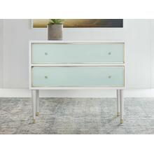 See Details - Seaglass Two Drawer Chest
