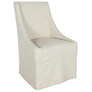 Warwick Upholstered Dining Chair Oatmeal