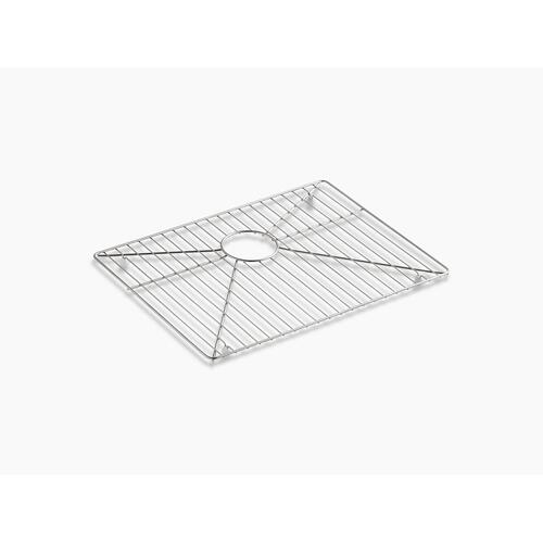"""Stainless Steel Stainless Steel Sink Rack, 21-1/4"""" X 15-15/16"""" for Vault K-3822 Kitchen Sink"""