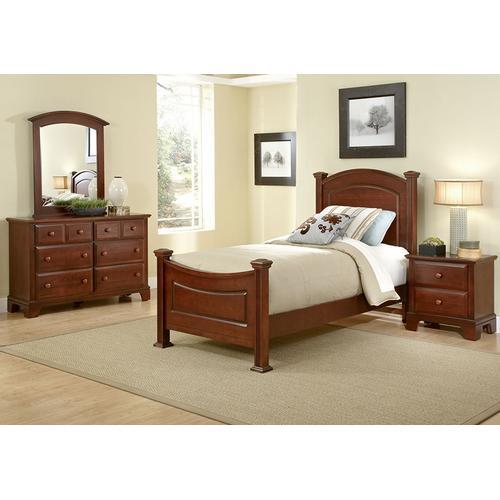 Vaughan-Bassett - Panel Bed Twin & Full