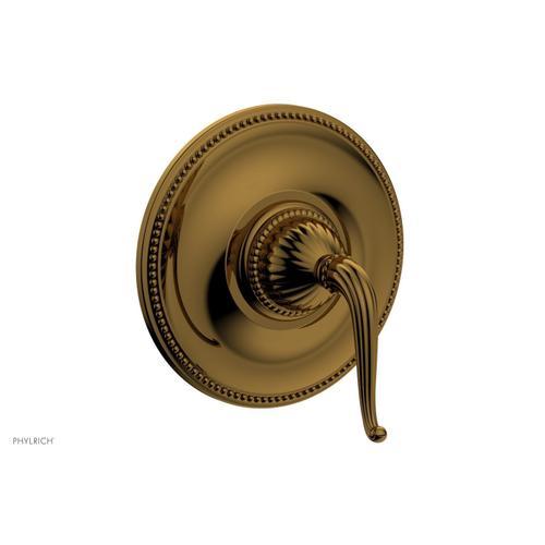 GEORGIAN & BARCELONA Pressure Balance Shower Plate & Handle Trim PB3141TO - French Brass