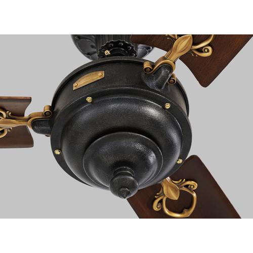 Monte Carlo Fans - Arezzo 60 - Antique Iron w Antique Brass