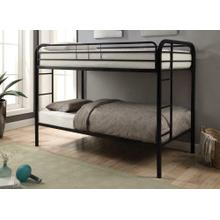 Morgan Black Twin Bunk Bed