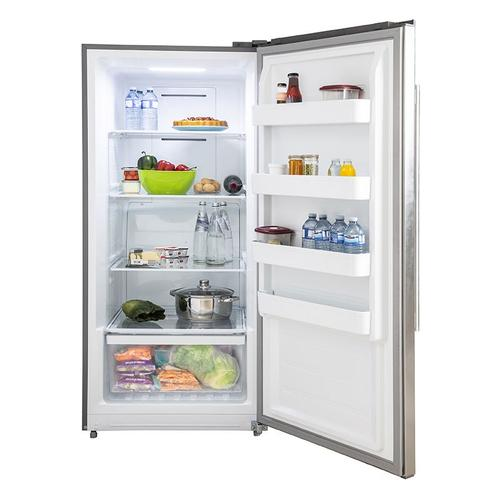 """Forno - Rizzuto - Refrigerator and Freezer (two in one) 60"""" Wide with 27.6 cu.ft. Total Storage w/ decorative grill allowing ventilation"""