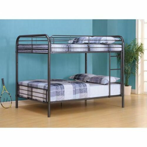 ACME Bristol Full/Full Bunk Bed - 37435 - Gunmetal