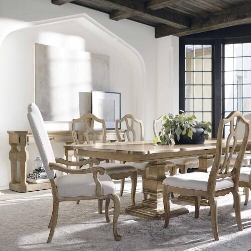 Bernhardt - Villa Toscana Side Chair in Criollo (302)