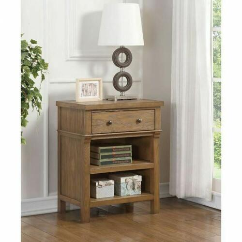 ACME Inverness Nightstand - 36093 - Reclaimed Oak