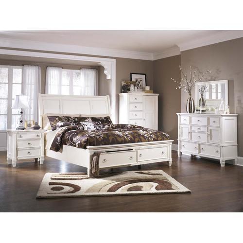 Prentice Bedroom Mirror White