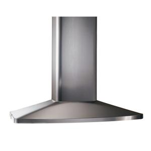 BroanBroan® 35-7/16-Inch X 27-9/16-Inch Convertible Island Chimney Range Hood, 480 CFM, Stainless Steel