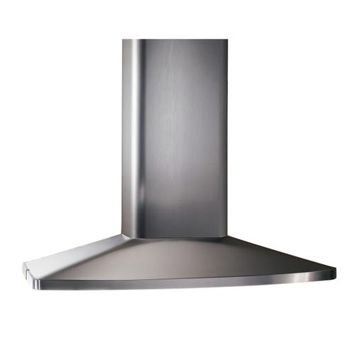 Broan® 35-7/16-Inch X 27-9/16-Inch Convertible Island Chimney Range Hood, 480 CFM, Stainless Steel