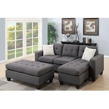 See Details - Sectional W/ Ottoman