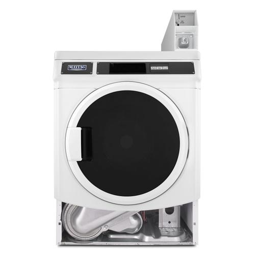 Commercial Single Load, Super Capacity Electric Dryer White